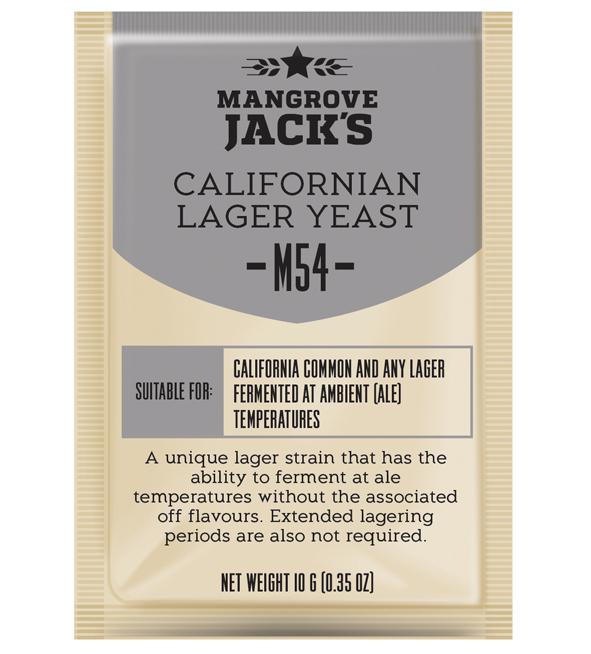 Mangrove Jack's CS Yeast M54 Californian Lager (10g)
